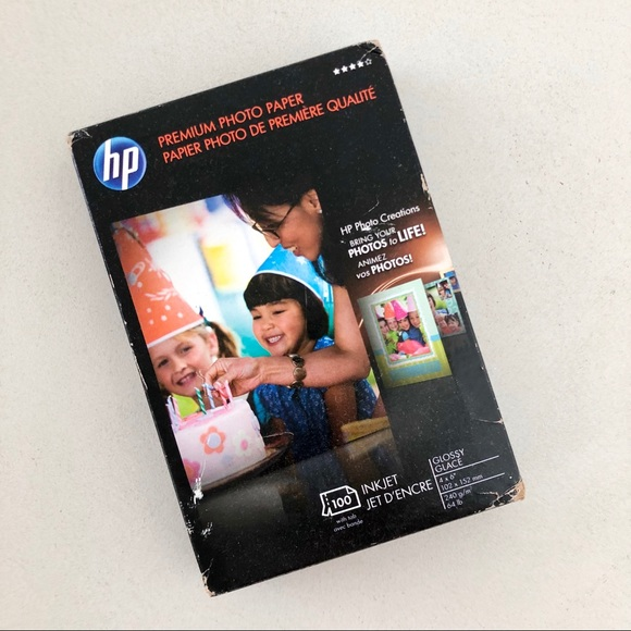 🎁 FREE HP inkjet photo paper sealed package